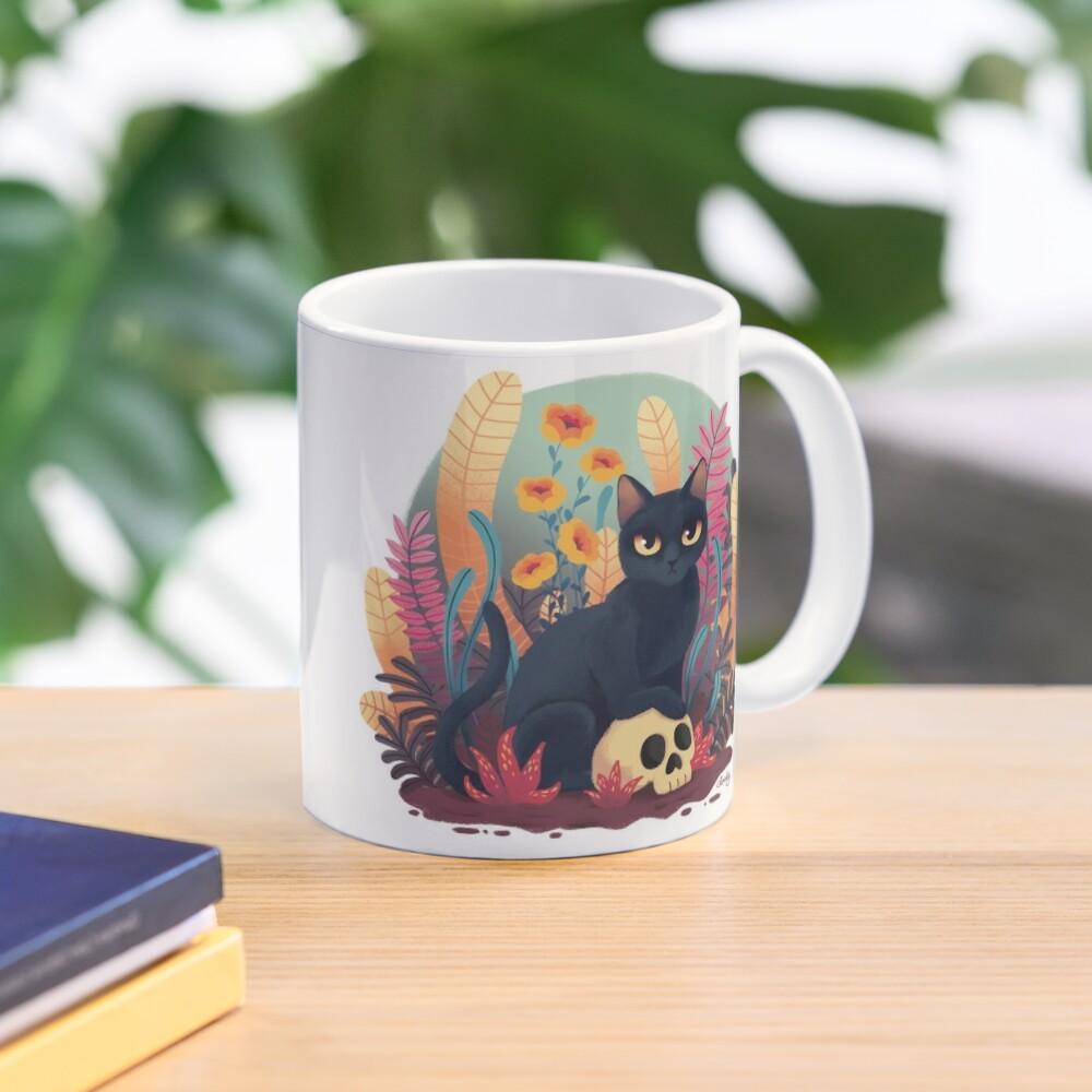 Skull kitty Mug