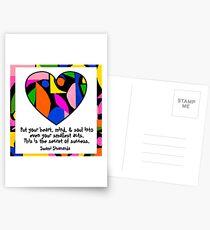 the secret to success ...  Postcards
