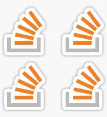 Stackoverflow Sticker Bundle 4x Sticker