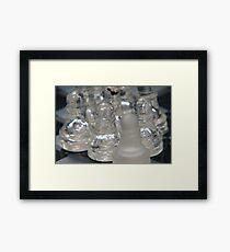 Chess Following 2 Framed Print