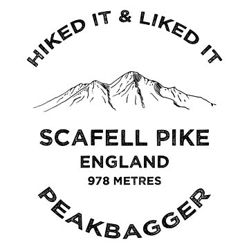 Scafell Pike Lake District Peakbagging Adventure by broadmeadow