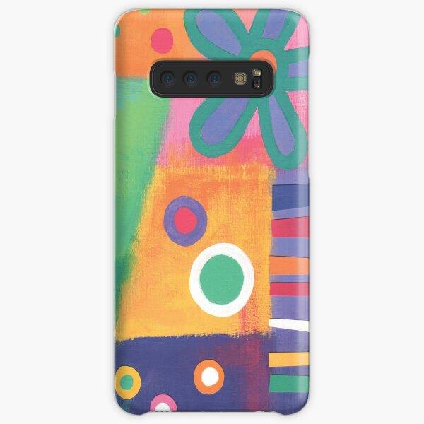Flowers Patchwork Samsung Galaxy Snap Case