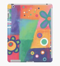 Flowers Patchwork iPad Case/Skin