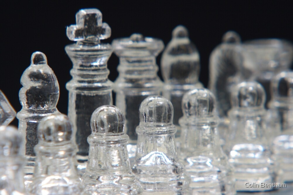 Chess Bishop by Colin Bentham
