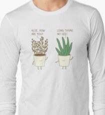 garden etiquette Long Sleeve T-Shirt