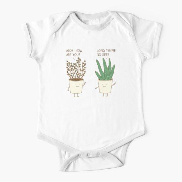 garden etiquette Short Sleeve Baby One-Piece