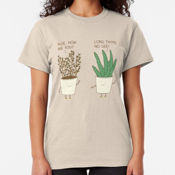 garden etiquette Classic T-Shirt