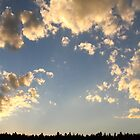 Golden Clouds at Dusk by Ryan McGurl