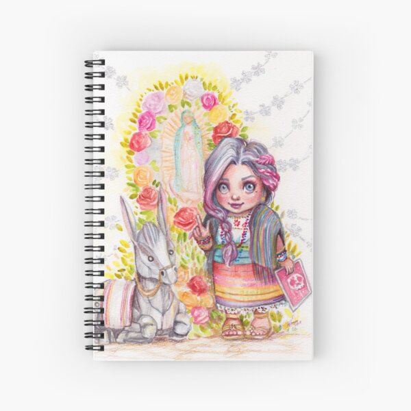 A boop for the camera mija  Spiral Notebook