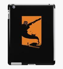 Mad Road - silhouette iPad Case/Skin