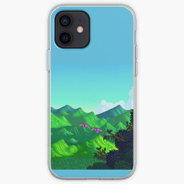 Stardew Valley Opening Scene iPhone Soft Case