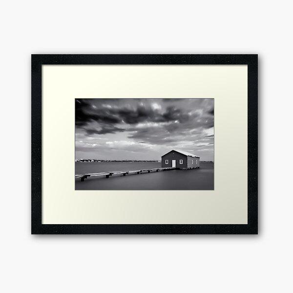The Boathouse, Crawley Framed Art Print