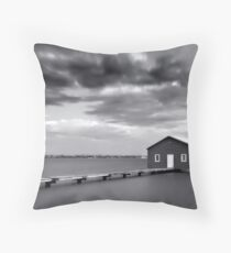 The Boathouse, Crawley Throw Pillow