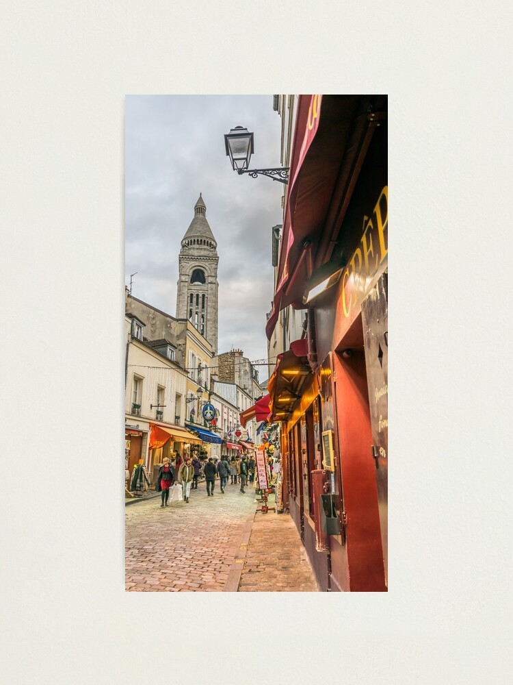 Alternate view of An evening in Montmartre  Photographic Print