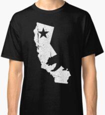 California Bear and Star Classic T-Shirt