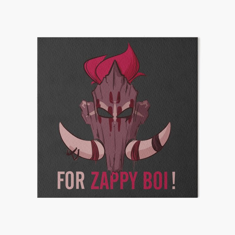 For Zappy Boi ! For The Horde ! Art Board Print