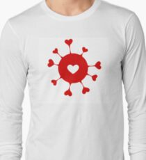 Happy Valentine's day hearts T-Shirt