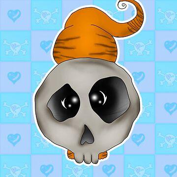 cat skull by mysticline