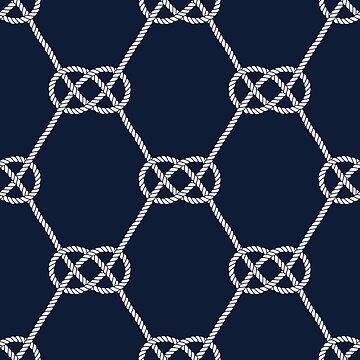Carrick Bend Knots - Fishing Net Pattern by AnastasiiaM