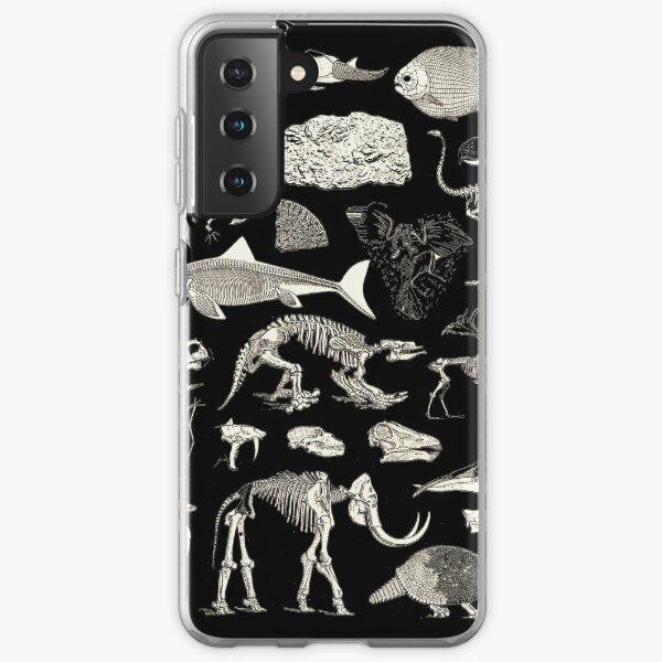 Paleontology Illustration Samsung Galaxy Soft Case