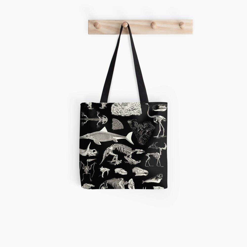 Paleontology Illustration Tote Bag