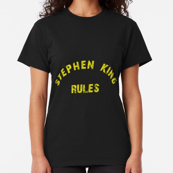 Stephen King Rules Classic T-Shirt