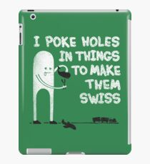 Swiss Happens! iPad Case/Skin