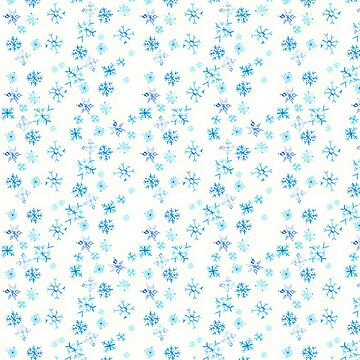 Watercolor Snowflakes  by WildEmpress