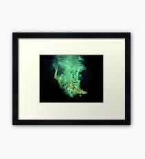 Underwater poetry Framed Print