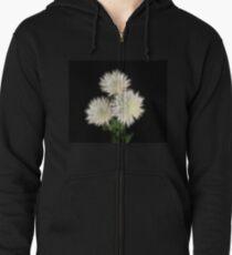 Electric Flowers! Zipped Hoodie