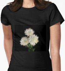 Electric Flowers! Fitted T-Shirt