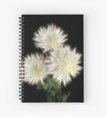 Electric Flowers! Spiral Notebook