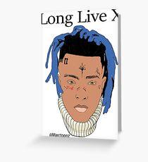 XXXTENTACION - Long Live X - #LLX Greeting Card