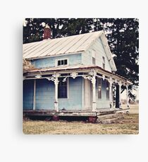 The Abandoned Dollhouse 3 Canvas Print