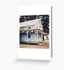 The Abandoned Dollhouse 3 Greeting Card
