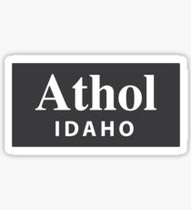 Athol, Idaho Sticker