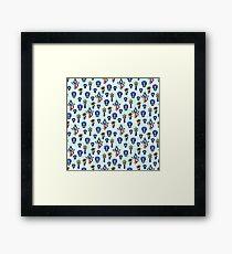 Sailor Mecury - Blue Framed Print