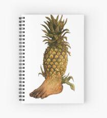 Pineapple/Foot  Spiral Notebook