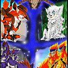 Jinimaru Folklore Poster - Set 1 by zuperbuuworks