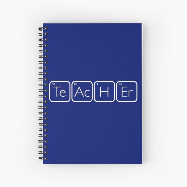 Chemistry Teacher Spiral Notebook
