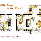 Floorplan of the LITTLE HOUSE ON THE PRAIRIE by Iñaki Aliste Lizarralde