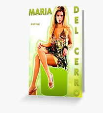 Maria Del Cerro Greeting Card