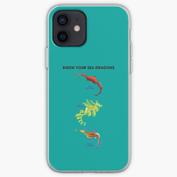 Know Your Sea Dragons iPhone Soft Case