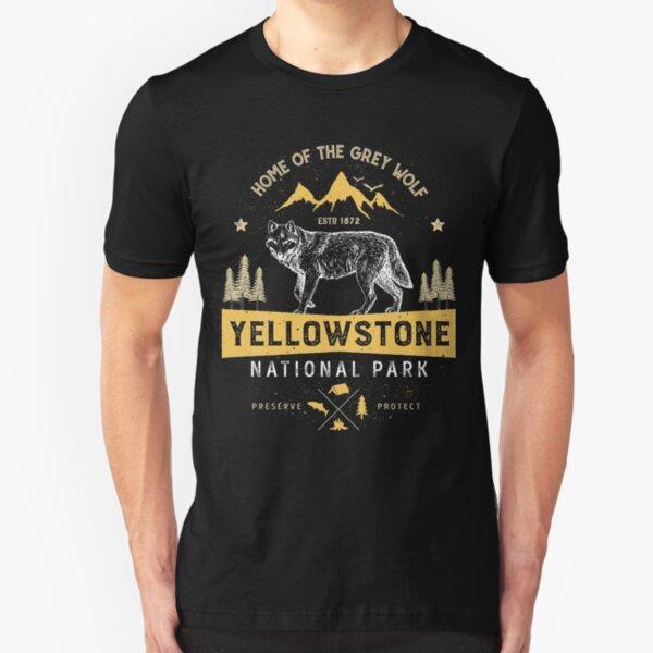 Olympic National Park Vintage Mens V-Neck T Shirt