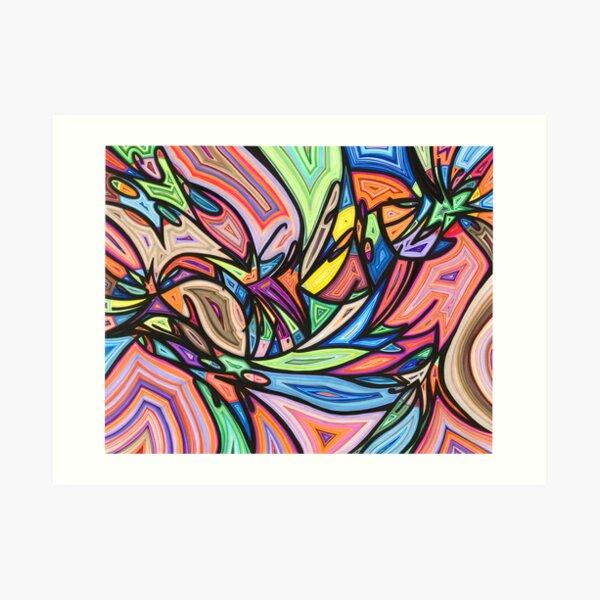 One Love, United We Stand Art Print