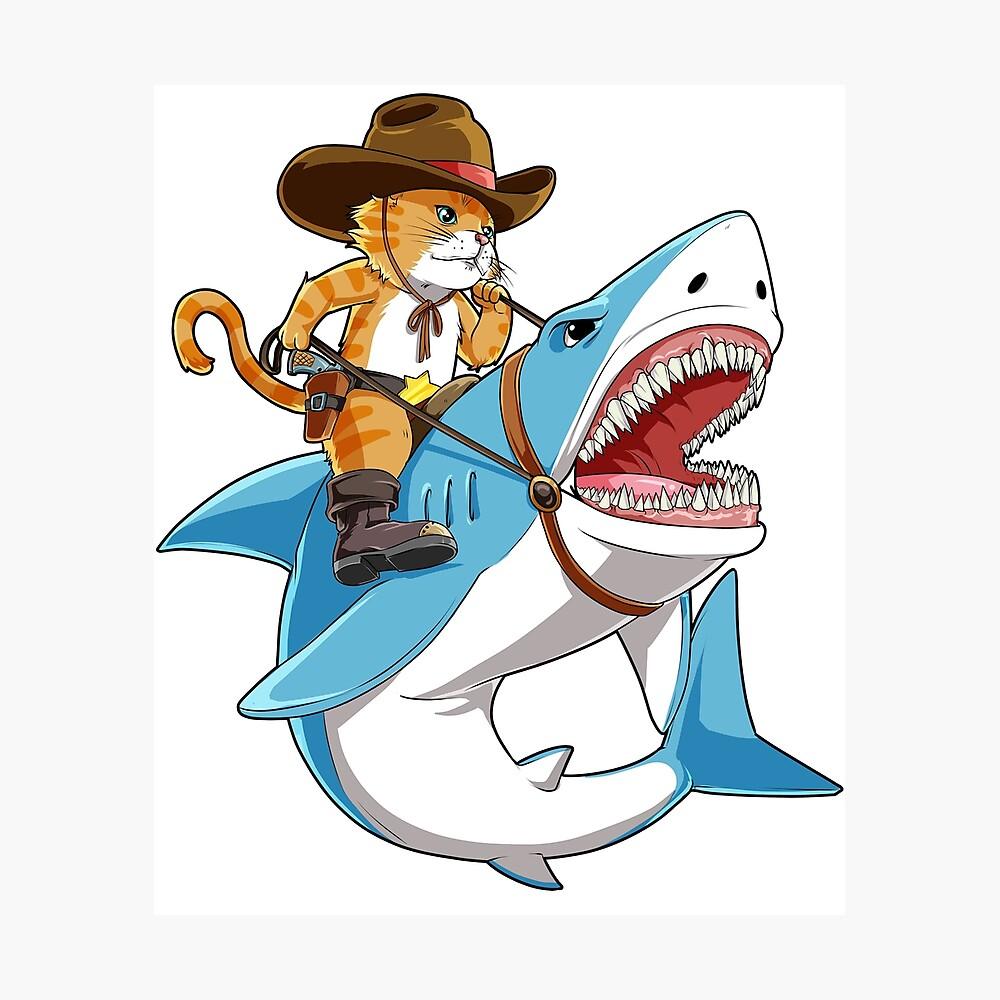 Jaws Shark Teeth Poster Boys Graphic T Shirt