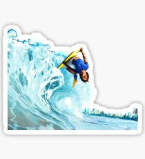 bodyboard Sticker
