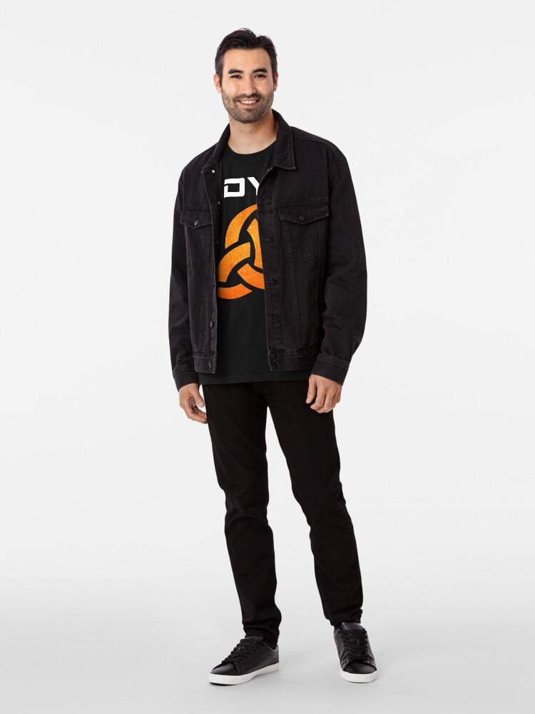 Alternate view of Textured ODYN Shirt for CitizenCon2018 Premium T-Shirt