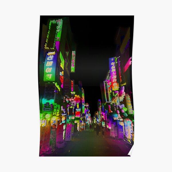 acid trip night Poster