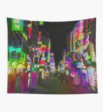 acid trip night Wall Tapestry
